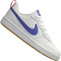 Tênis Nike Court Borough Low 2 - Infantil - Branco/Azul