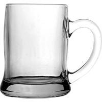 Caneca Para Cerveja Dynasty Em Vidro Beer Mug Transparente 380Ml