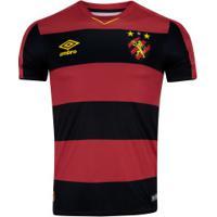 Camisa Do Sport Recife I 2019 Umbro - Masculina - Vermelho/Preto