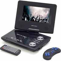 Dvd Player Portátil Automotivo Usb Sd Jogos Au710 Multilaser