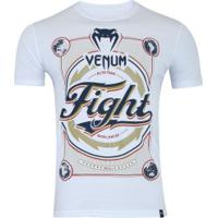 Camiseta Venum Worldwide - Masculina - Branco