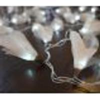 Cordão Luminoso Luz De Fada Organza Champagne