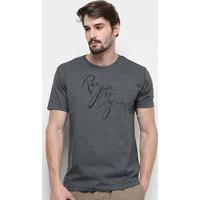 Camiseta Aleatory Run Your City Masculina - Masculino-Mescla