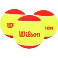 Bola Tenis Wilson Starter (Pk3) - Unissex