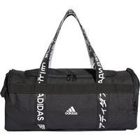 Bolsa Adidas Duffel 4Athlts - Unissex-Preto+Branco
