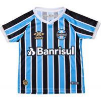 Camisa Infantil Umbro Grêmio Oficial 1 2018 Sem Número 4fd12a6d7c961