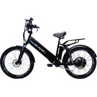 Bicicleta Elétrica Machine Motors New Premium 800W 48V Preto