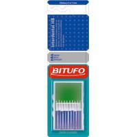 Escova Dental Bitufo Interdental Hb Cônica Com 10 Unidades