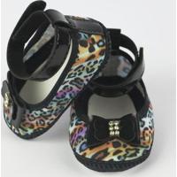 Sapato Danda Nenê Oncinha Color - Feminino-Estampado