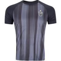 Camiseta Do Atlético-Mg Honda 19 - Masculina - Preto/Cinza Esc