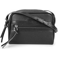 Bolsa Anacapri Mini Bag Eco Ravena Calf Feminina - Feminino-Preto