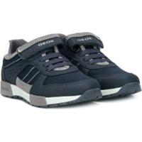 Geox Tênis Com Velcro - Azul