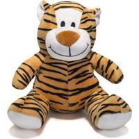 Bicho De Pelúcia 17Cm - Tigre - Unik Toys - Kanui