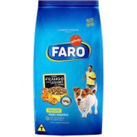 Ração Para Cães Faro Raças Pequenas Sabor Frango Com Legumes Ao Vapor 1Kg