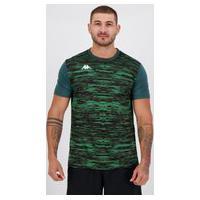 Camisa Kappa Jenner Verde
