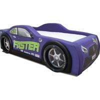 Cama Carro Mercedes Roxo
