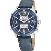 Relógio Analógico Digital Seculus Masculino - 20816G0Sgnr4 Azul Marinho