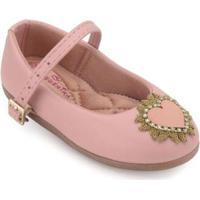 Sapato Infantil Boneca Pequenina Baby Feminino - Feminino-Rosê