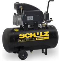 Compressor De Ar Schulz Pratic Air 2 Hp, Monofásico - Csi 8,5/50 - 110 Volts