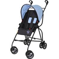 Carrinho De Bebê Capri Preto Azul
