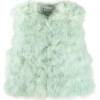 Red Valentino Feather Gilet - Verde
