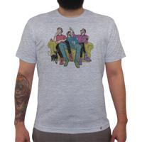 Friends - Camiseta Clássica Masculina
