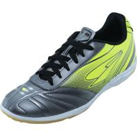 Chuteira Futsal Dray 355Co Chumbo E Verde