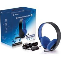 Headset Sony Wired Stereo Silver 7.1 Com Fio Ps4