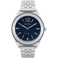 a3595ee3b5d ... Relógio Euro Feminino Metal Trendy - Eu2036Ymj 3A Eu2036Ymj 3A -  Feminino-Prata