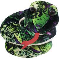 Pelúcia Minas De Presentes Cobra Verde - Kanui