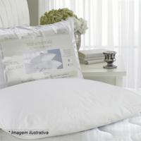 Travesseiro Em Malha Penteada - Branco - 70X50Cmsultan