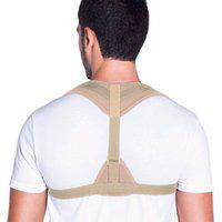 Corretor Postural Corrige Postura Confortável Eficaz Kestal Bege