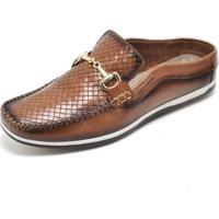 Sapato Mule Babuche Cor Cacau