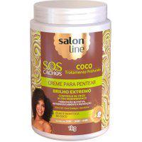 Creme De Pentear Salon Line S.O.S Cachos Coco Tratamento Profundo 1Kg
