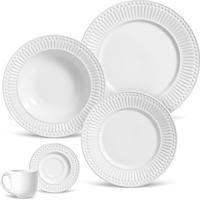 Aparelho De Jantar 20 Peças Roma - Unissex