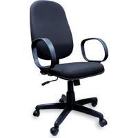 Cadeira Presidente Operativa Com Lâmina Preta