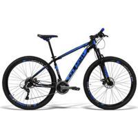 Bicicleta Gts Aro 29 Freio A Disco Câmbio Traseiro Gtsm1 Tsi 21 Marchas E Amortecedor Ride - Unissex
