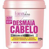 Máscara Forever Liss Desmaia Cabelo Ultra Hidratante - Feminino-Rosa