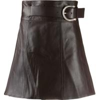 Dodo Bar Or Belted Mini Skirt - Vermelho