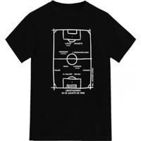 Camiseta Novo Manto Vasco Libertadores 1998 - Unissex-Preto