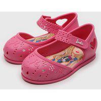 Sapatilha Grendene Kids Barbie Little Party Rosa