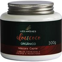Les Arômes Aloe E Coco Orgânico Amazônia Máscara Capilar 300G - Unissex-Incolor