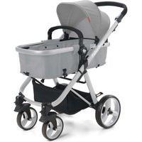 Carrinho De Bebê Hero Do Nascimento Até 15Kg Cinza Fisher Price - Bb594