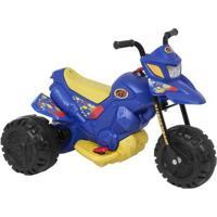 Mini Moto Elétrica Infantil Xt3 2 Marchas 6V - Unissex-Azul