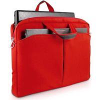 Bolsa Feminina Multilaser Notebook Até 15'' - Unissex-Vermelho