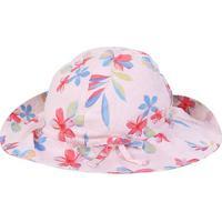 Chapéu Infantil Gap Bebê Floral - Masculino-Rosa