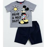 Conjunto Infantil Estampa Mickey Disney