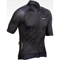 Camisa De Ciclismo Premium Black Ert Masculina - Masculino