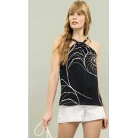 Blusa Corrente Estampa Queensland - Lez A Lez