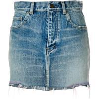 Saint Laurent Saia Jeans - Azul